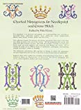 Charted Monograms for Needlepoint and Cross-Stitch (Dover Embroidery, Needlepoint) 画像