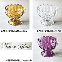 【NSLF2060】□【BR5】トレイスガラス デザート パープル(PURPLE)
