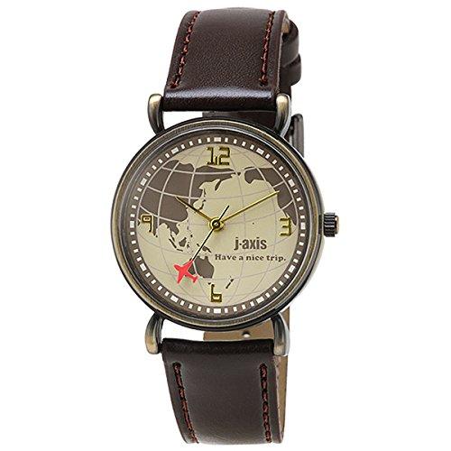[ジェイ・アクシス]j-axis 腕時計 ファッション AL1224-BR レディース