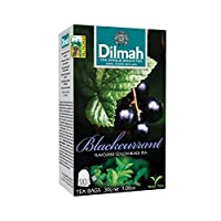 Dilmah 100% Pure Ceylon Blackcurrant Tagged Tea (Pack of 12) by Dilmah