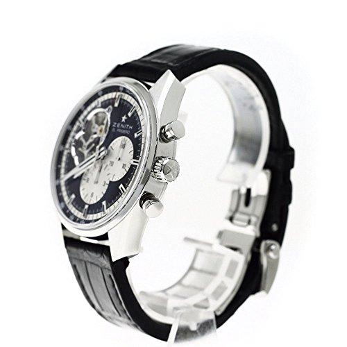 ZENITH(ゼニス) 03.2042.4061/21.C496 ブティック限定/シースルーバック エルプリメロ クロノマスター 1969 腕時計 ステンレス/革 メンズ (中古)