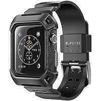 SUPCASE Apple Watch Series 3保護ケース バンド 衝撃吸収 アップルウォッチ シリーズ 3 対応 カバー(42mm, 黒)…