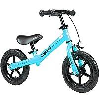 HAIZHEN マウンテンバイク 年齢1.5〜5歳のバイク - ベストスポーツバイクボーイズ&ガールズ - キッズは、軽いファーストバイクでトリシクルをスキップします 新生児 (色 : 青)