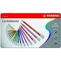 スタビロ 水彩色鉛筆 カーブオテロ 60色 1460-6