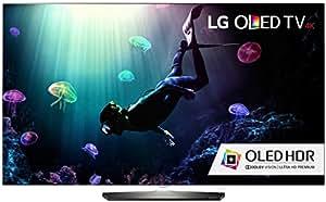 LG Electronics OLED55B6P Flat 55-Inch 4K Ultra HD Smart OLED TV (2016 Model)