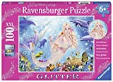 Mermaids & Dolphins 100 PC Glitter Puzzle