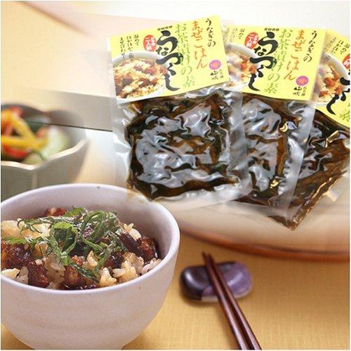 浜名湖山吹 うなぎ混ぜご飯・うな茶漬けの素「うなつくし」 3袋