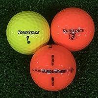 A+ABランク マーカー入り ツアーステージ EXTRA DISTANCE カラーボール 混合 30球 ロストボール 【ECOボール】
