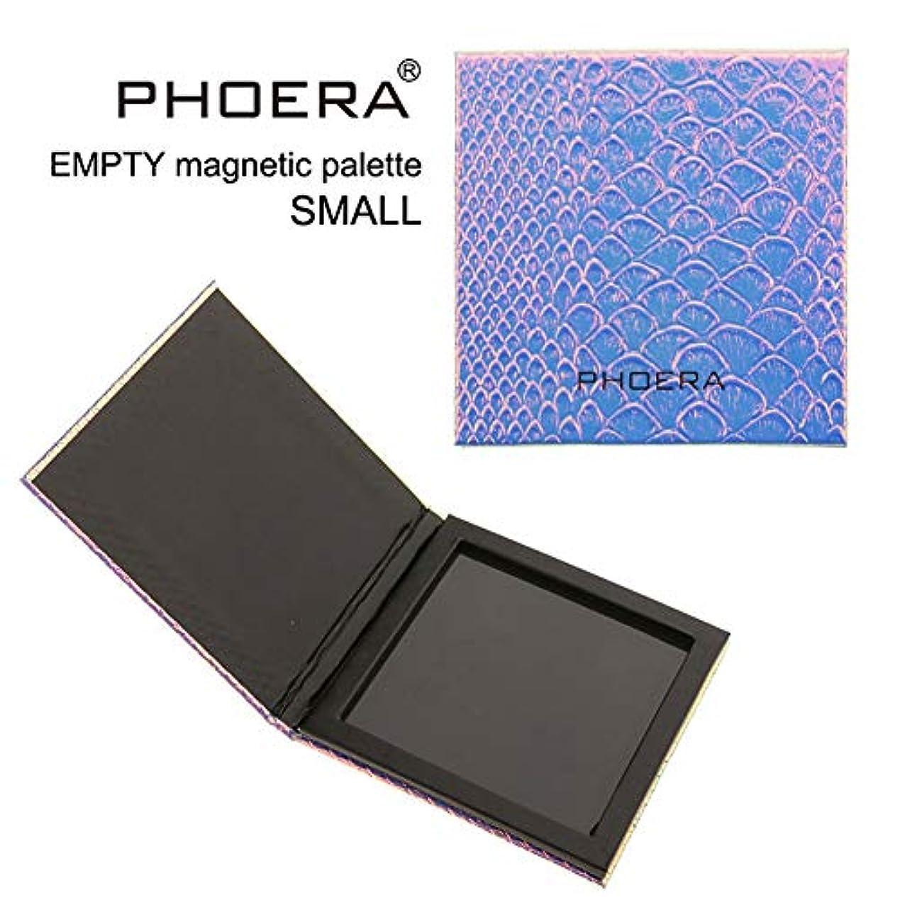 堂々たるカメ立方体磁気アイシャドウメイクアップパレットエンプティ-ビューティージャンキーズスモールコンパクトアイシャドウメイクアップパレット