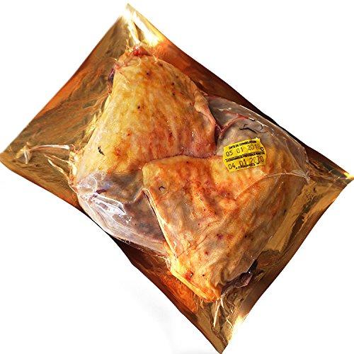 フランスホロホロ鳥骨付きモモ肉 (キュイス パンタドー) 約400-500g(冷凍)2本パック