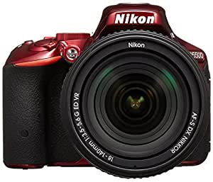 Nikon デジタル一眼レフカメラ D5500 18-140 VR レンズキット レッド 2416万画素 3.2型液晶 タッチパネル D5500LK18-140RD