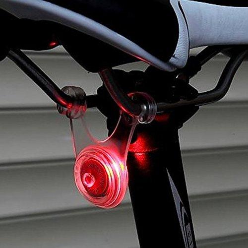 スポーク LED ライト 自転車 サイクル 用 ぶら下げ 式 防水 シリコン...