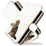Galaxy S10 SC-03L ケース 手帳型 じゃれ 猫 写真 ネコ かわいい 手帳 カバー ギャラクシー エス10 エスシー03エル 手帳型ケース 手帳型カバー ねこ柄 シンプル [じゃれ 猫 写真/t0755]
