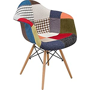 椅子 イームズチェア デザイナーズ リプロダクト パッチワーク DN1002D