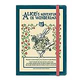 (7321デザイン) 7321Design 不思議の国のアリス150周年記念ダイアリー ダイアリー 不思議の国のアリス 手帳 (白うさぎ)
