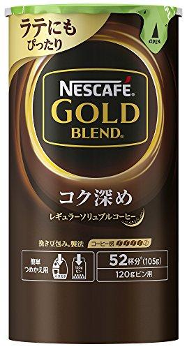 NESCAFE (ネスカフェ) ゴールドブレンド コク深め エコ&システムパック 105g B074MS8F15 1枚目