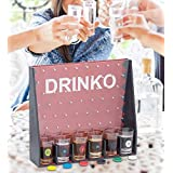 Monty's Bazaar Drinko Shot Glass Drinking Game - Great Party Game for Adults