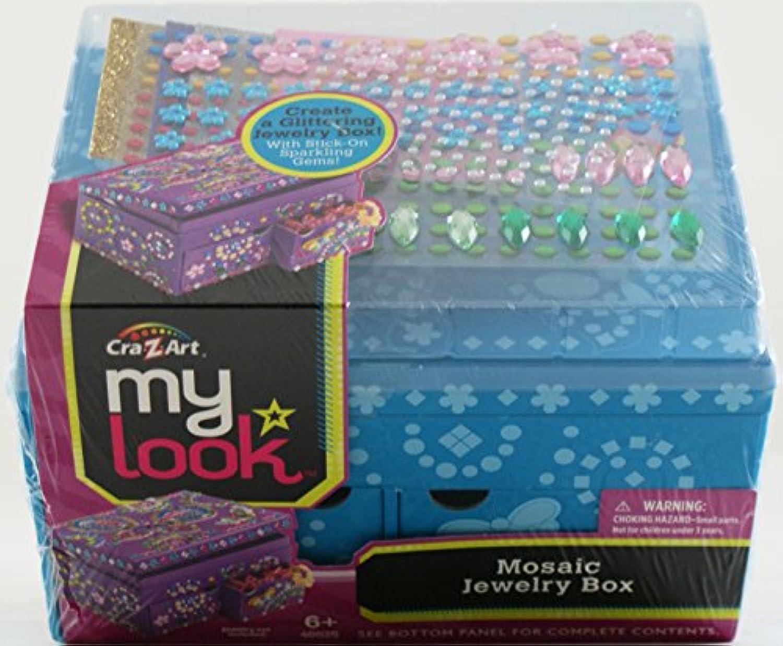 CraZart My LookモザイクJewlryボックス