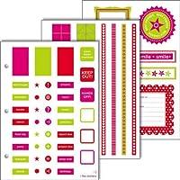 Zoomerang Dots Sticker Pack 6 sheets 6 x 8.5 Inches (41562) [並行輸入品]