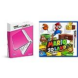 「Newニンテンドー3DS LL ピンク×ホワイト + スーパーマリオ3Dランド - 3DS セット」の画像