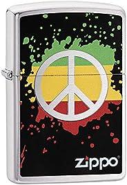 Zippo Adult-Unisex 29606 Peace Sign Windproof Lighter