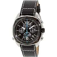 ブローバ Bulova Men's 98B226 Precisionist Analog Display Japanese Quartz Black Watch [並行輸入品]