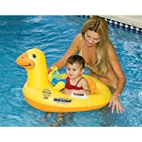 Skill School Inflatable Ducky Baby Pool Seat