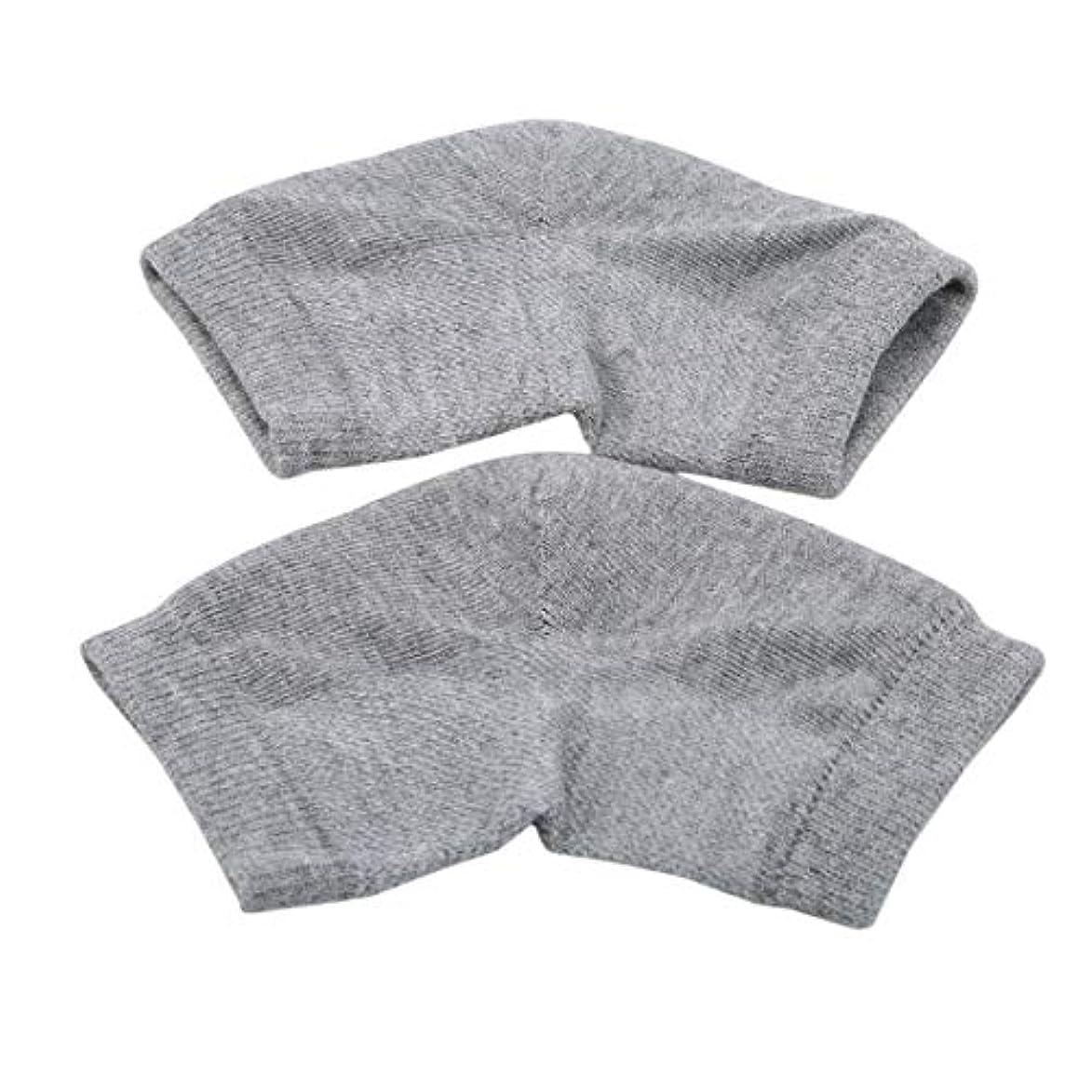 素晴らしきコミットエミュレートするKLUMA かかと靴下 ソックス 角質ケア スベスベ ツルツル うるおい 保湿 フットケア レディース メンズ 男女兼用 フリーサイズ 灰色