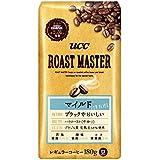 UCC ROAST MASTER 豆 マイルド for BLACK コーヒー豆 180g