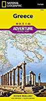 National Geographic Europa Greece Adventure Travel Map (National Geographic Adventure Map)