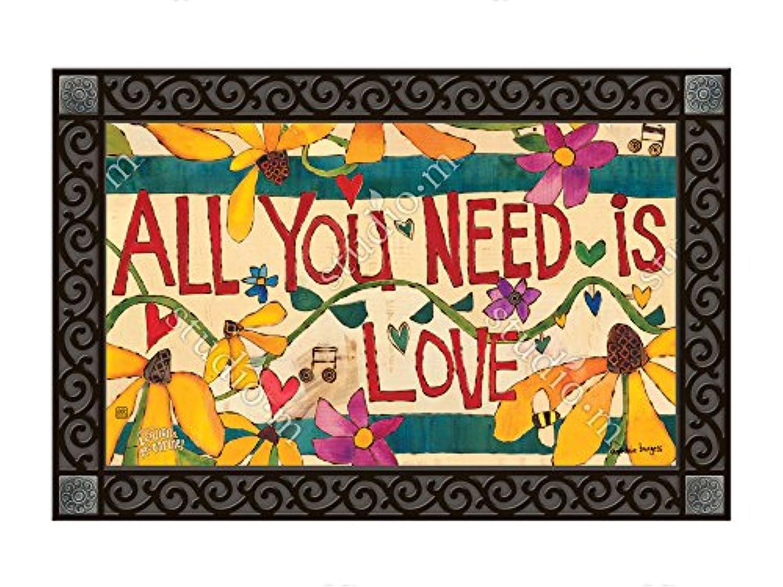 マグネットWorks Matmate – All You Need Is Love