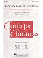 Sing We Now Of Christmas - SATB. Partitions pour SATB, Accompagnement Piano
