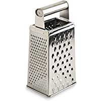 Honey Can Do 2180 9.5 in Stainless Steel Grater, Stainless Steel