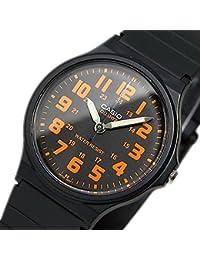 カシオ CASIO クオーツ メンズ 腕時計 MQ-71-4B ブラック/オレンジ 逆輸入