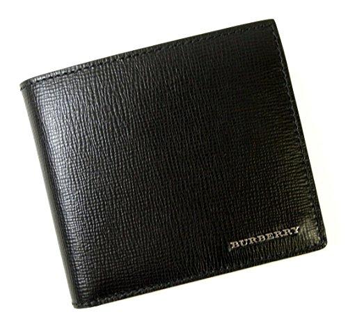 (バーバリー) BURBERRY 財布 メンズ ロンドンレザー 二つ折り(ブラック) 3997618 BR-1234 [並行輸入品]...