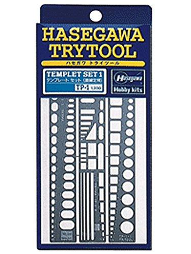 ハセガワ テンプレート1 直線定規 TP1  B