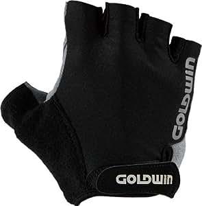 GOLDWIN GWB-285 スタンダードハーフグローブ スーパーブラック S GWB-285