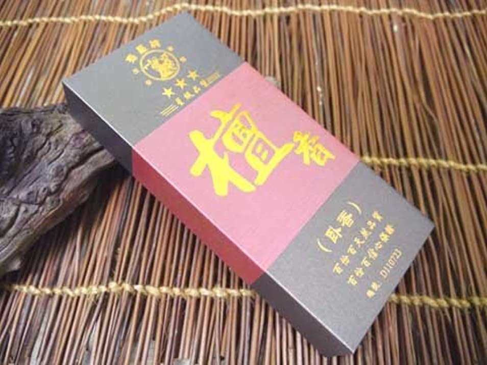 見える穀物グループ寿星牌 中国広州のお香【檀香】寿星牌謹製