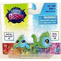 Littlest Pet Shop BFF Rainbow Pets Seafoam Dazzleshell 7 Brillia Beryl 8