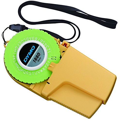 RoomClip商品情報 - ダイモ テープライター M-1880 9mmテープ対応 英数字(筆記体有)・記号対応 DM1880