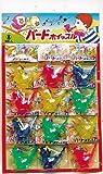 【台紙玩具】 バードホイッスル (12付)  / お楽しみグッズ(紙風船)付きセット
