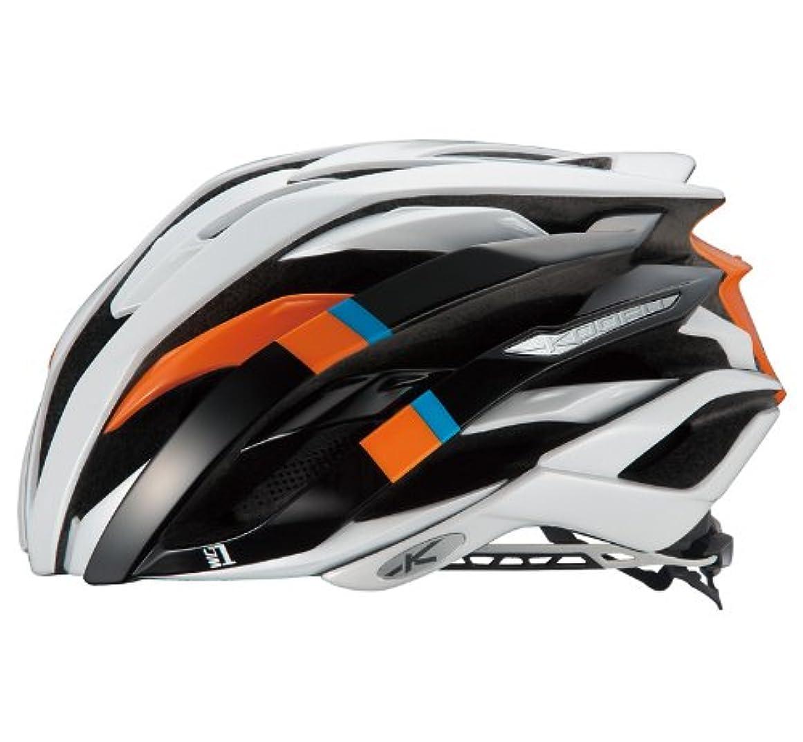 めまい学んだ市民権OGK KABUTO(オージーケーカブト) ヘルメット WG-1 マンゴオレンジ サイズ:XL/XXL
