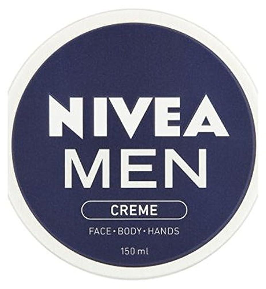 素人牛効率NIVEA MEN Creme 150ml - ニベアの男性が150ミリリットルクリーム (Nivea) [並行輸入品]