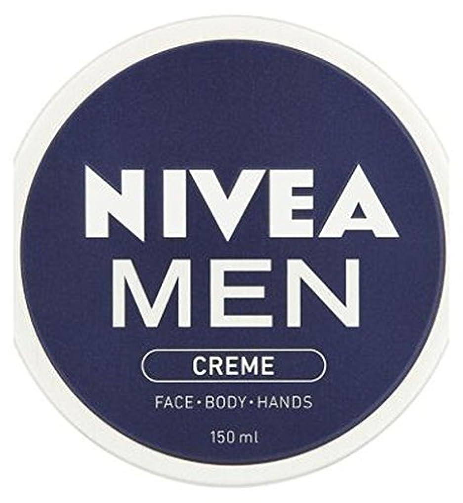 厳密に悪質な不可能なNIVEA MEN Creme 150ml - ニベアの男性が150ミリリットルクリーム (Nivea) [並行輸入品]