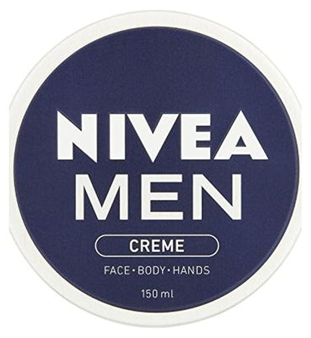 キノコオン人口NIVEA MEN Creme 150ml - ニベアの男性が150ミリリットルクリーム (Nivea) [並行輸入品]