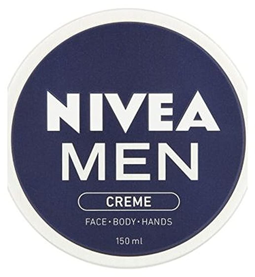 役に立つおばさんカメラNIVEA MEN Creme 150ml - ニベアの男性が150ミリリットルクリーム (Nivea) [並行輸入品]