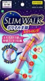 スリムウォーク (SLIM WALK) おやすみ美脚スーパーロング S~Mサイズ ラベンダー 着圧 ソックス