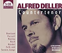 Countertenor: Collection of His Early Recordings by DELLER ALFRED (2013-11-25)