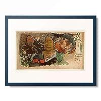 ポール・ゴーギャン Eugene Henri Paul Gauguin 「Musique barbare」 額装アート作品
