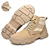 [HengBite] メンズブーツ ミリタリーブーツ タクティカルブーツ 登山靴 サバゲー ブーツメンズ